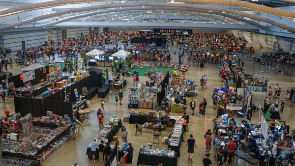 Replay FX From Above- This is less than half of the hall!