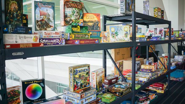 Board Games to Play at Replay FX