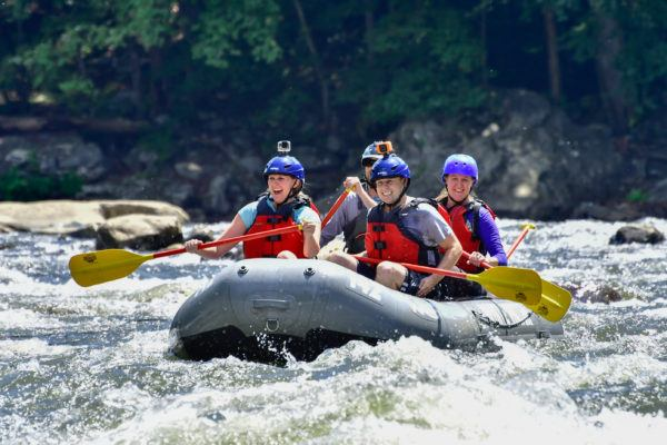 Rafting the Lower Yough