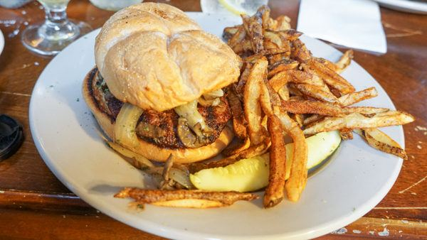 Burger at North Country