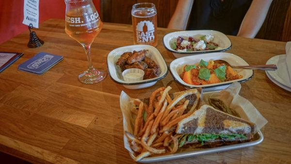 Food at East End Brewing
