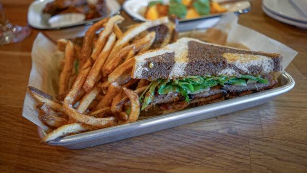 Brisket Sandwich at Larder