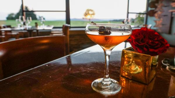 Bijou Cocktail at Aqueous Laurel Highlands