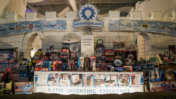 Products fworked on at Inventionland Pittsburgh