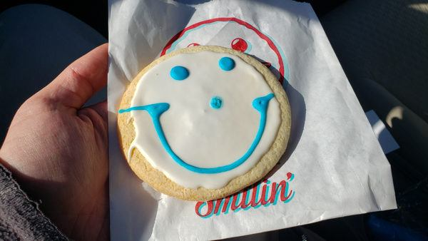 Smiley Cookies in Pittsburgh