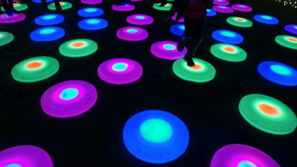 Glow Hopscotch