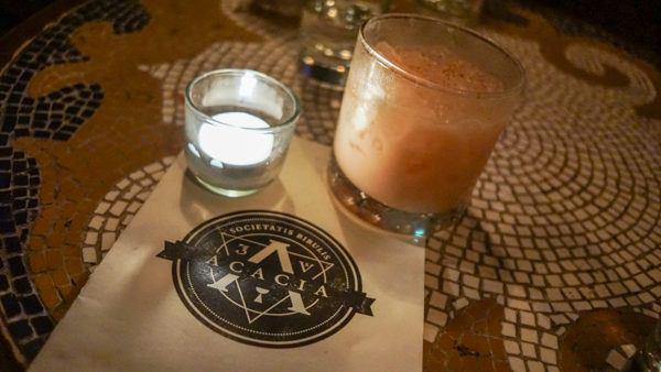 Cocktails at Acacia Pittsburgh