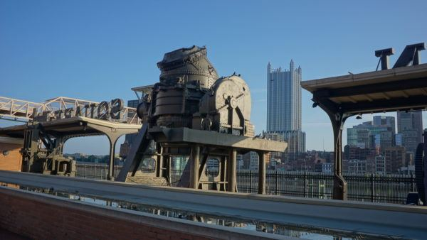 Steel Making Equipment at Station Square in South Side