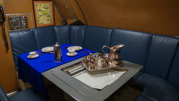 Dining on the USS Requin