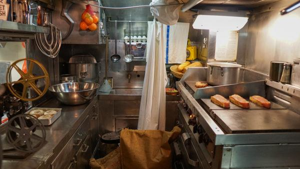 Galley on USS Requin