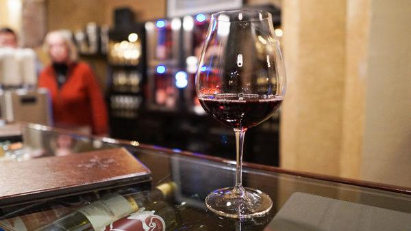 Wine by the glass at Mary's Vine wine bar