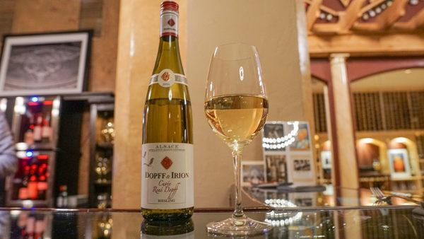 Alsatian Riesling at Mary's Vine