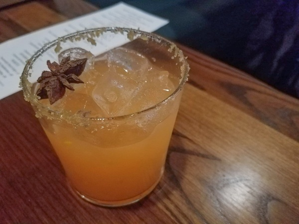 Seasonal Cocktail at Bonfire Pittsburgh