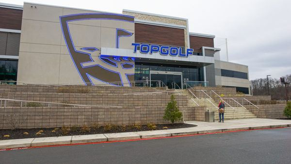 Topgolf Pittsburgh outside view