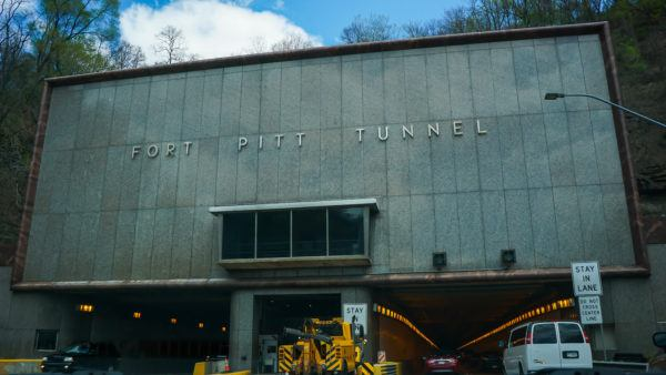 Entrance to Fort Pitt tunnel