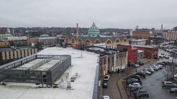 View from Ace Hotel in East Liberty