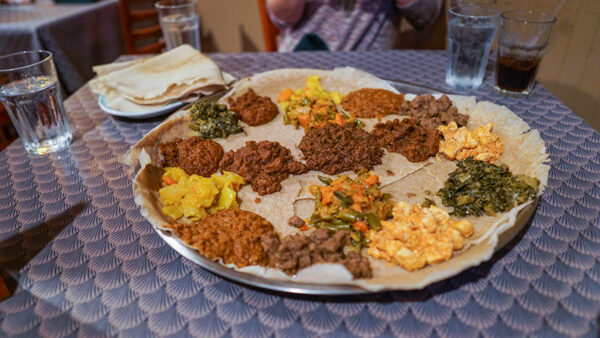 Ethiopian Cuisine in Pittsburgh at Tana