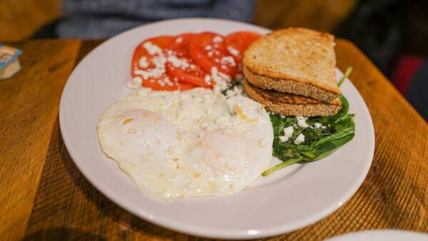 Yuriy's Breakfast at Cafe Raymond