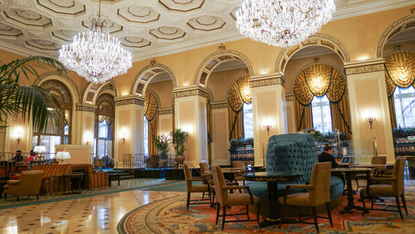 Lobby of the Omni William Penn Hotel