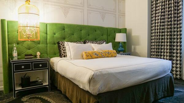 Comfortable Room at the Kimpton Hotel Monaco Pittsburgh