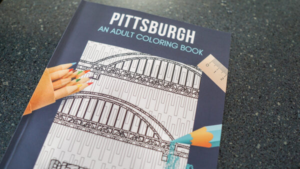 Pittsburgh Adult Coloring Book