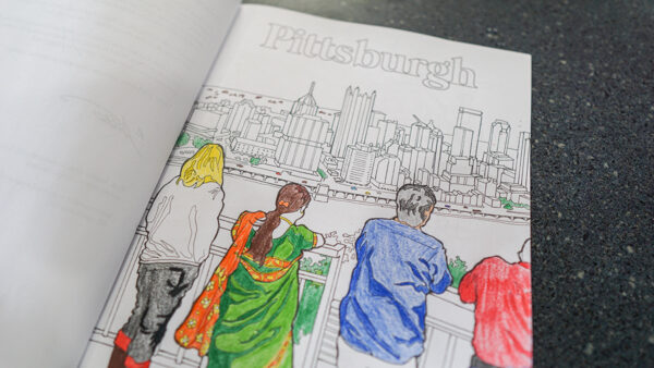 Inside Pittsburgh Coloring Book