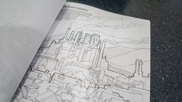 Inside Pittsburgh Coloring Book Volume 2