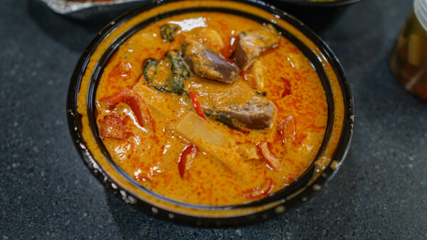 Red Curry with Seafood