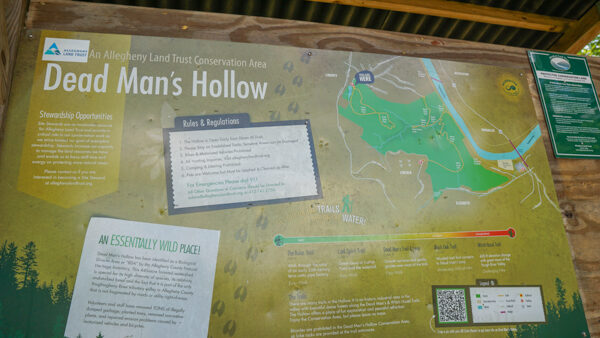 Dead Man's Hollow Local Map