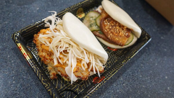 Mola's Bao - Pork belly and crispy chicken