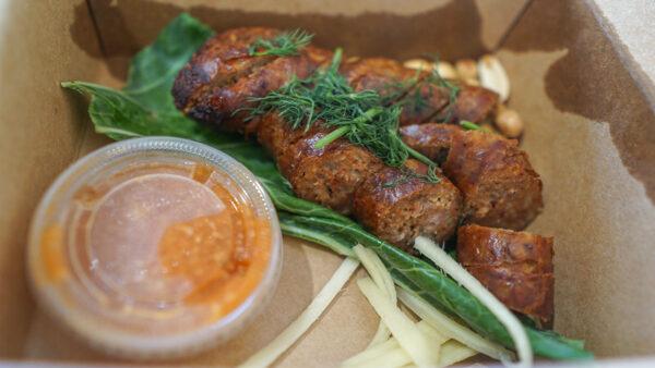 Sai Oua from Kiin Lao & Thai Eatery