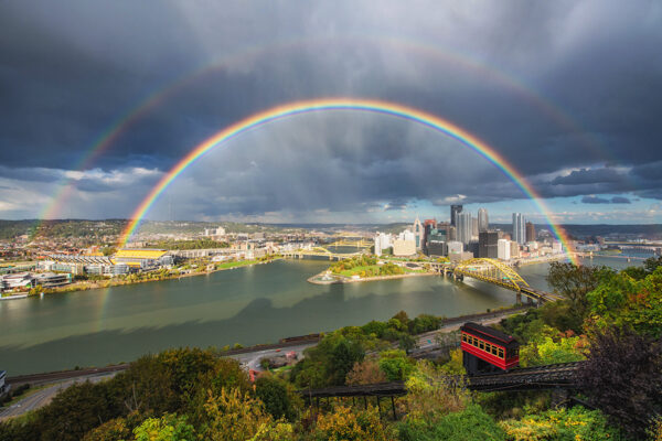 Dave DiCello Double Rainbow and Pittsburgh