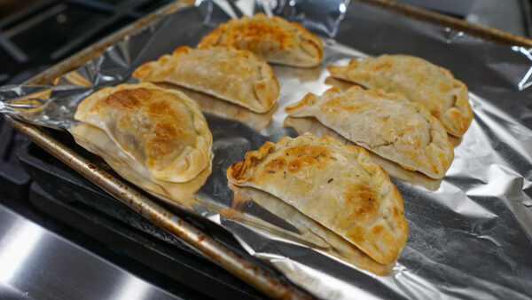 Re-Heating Empanadas at Home