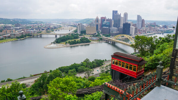 Pittsburgh from the Duquesne Incline Overlook