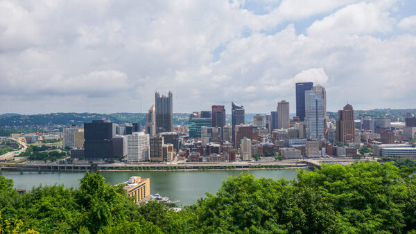 Pittsburgh from the Grandview Overlooks
