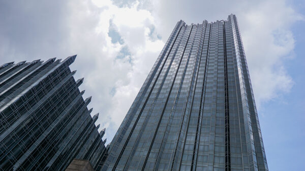 PPG Place in Downtown Pittsburgh