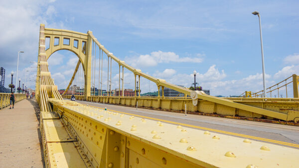 Looking Down the Clemente Bridge