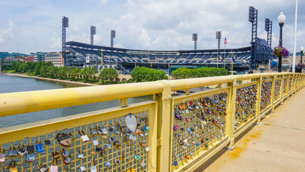 PNC Park from the Clemente Bridge