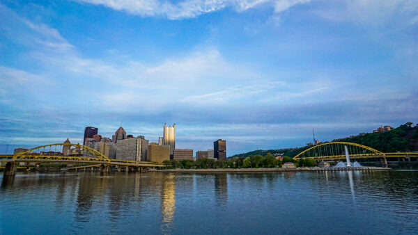 Pittsburgh from the Mr. Rogers Memorial