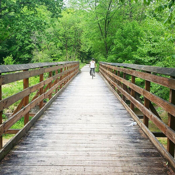 Biking the Butler-Freeport Community Trail