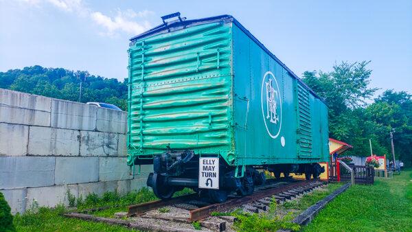 Train Relic in Boston, PA