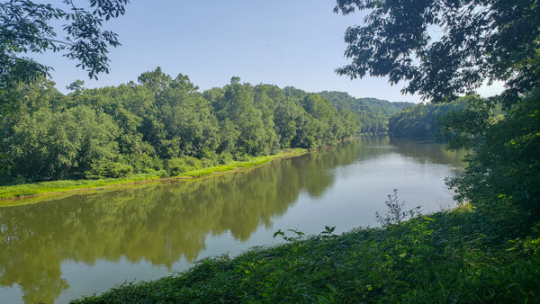 Youghiogheny River from the Great Allegheny Passage