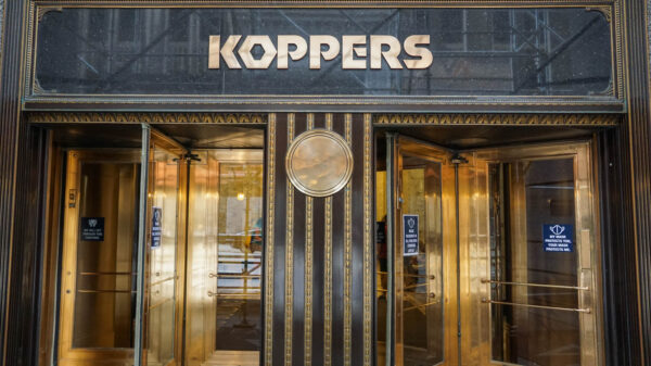 Koppers Building Entrance in Pittsburgh