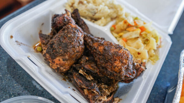 Jerk Chicken from 2 Sisters 2 Sons