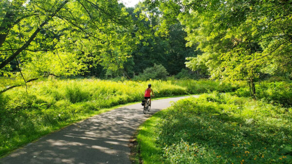 Moraine State Park Bike Trail