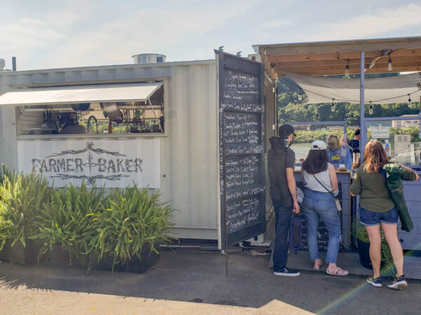 Farmer x Baker restaurant in Aspinwall