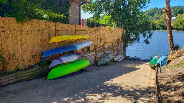 Kayak Rentals from 10.7 Marina