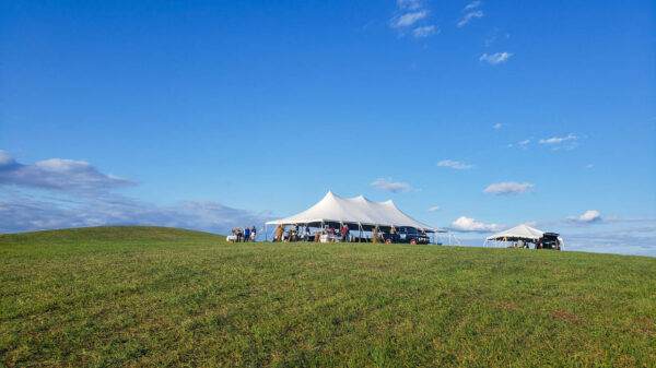 Farm Dinner at Birch Creek Farmery
