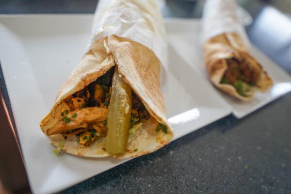 Wraps from Pita My Shawarma