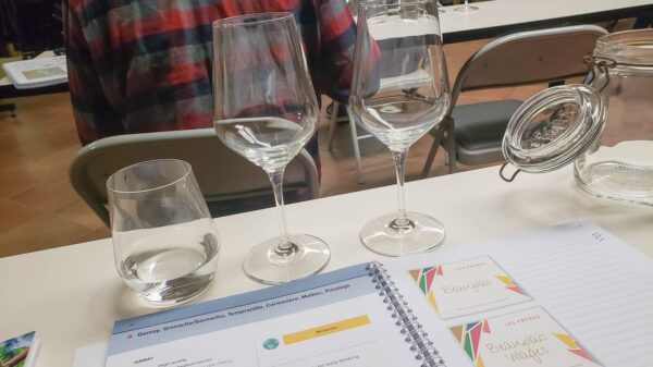 Studying WSET at Palate Partners